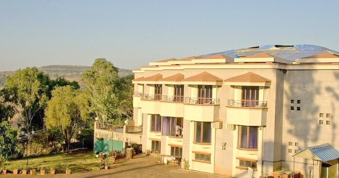 Exterior of The Dhanhills Hotel Panchgani