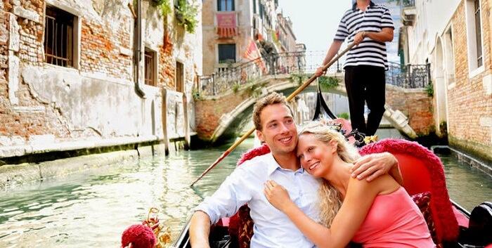 proposal iin gondola venice