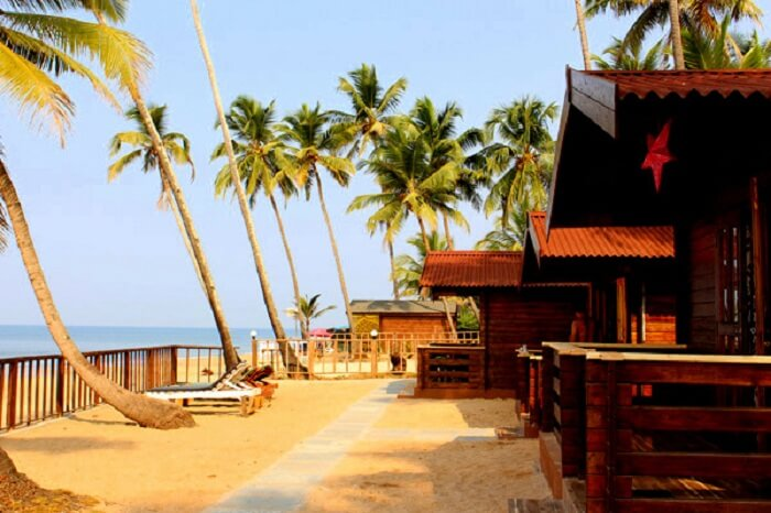 vista cottages in goa