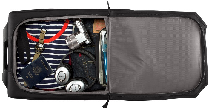 waterproofing luggage