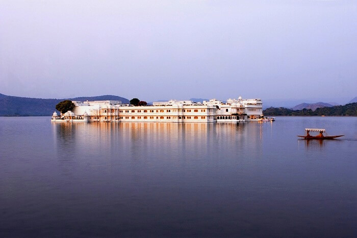 Taj Lake Palace Lake View