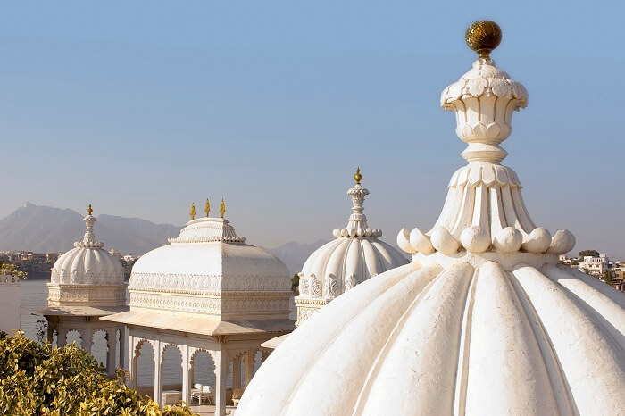 Heritage walk experience at Taj Lake Palace