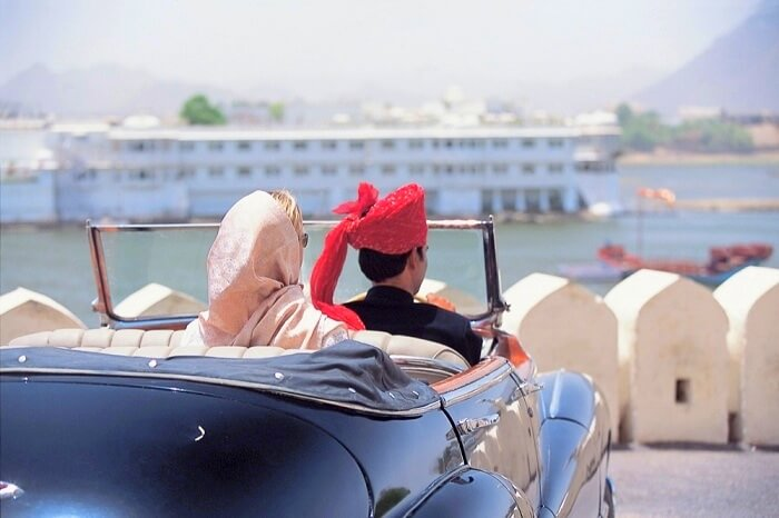 How to reach Taj Palace Udaipur