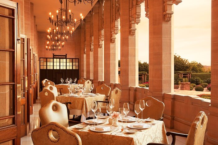 Dining at Umaid Bhawan Palace