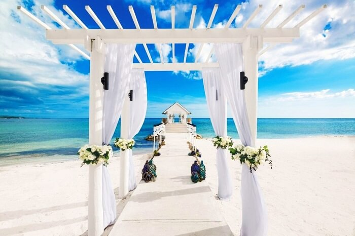 Over-the-Water Chapel at Sandals Resorts