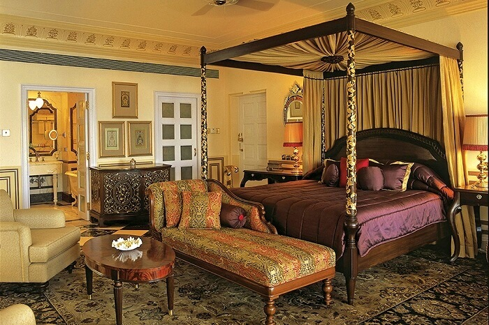 Accommodation at Taj Lake Palace Udaipur