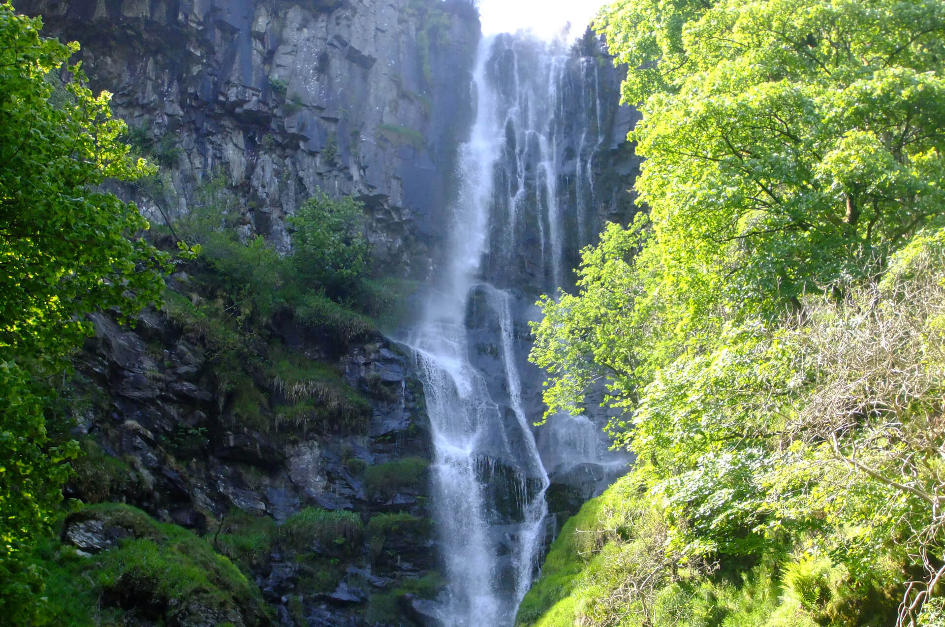 Bishop and Beadon Falls