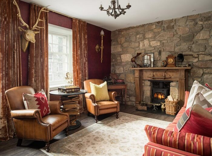 Canongate Harry Potter Apartment living room