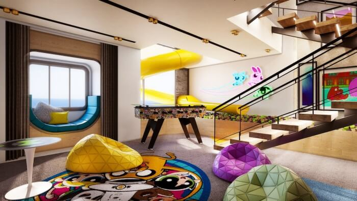 Suite in Cartoon Network Cruise