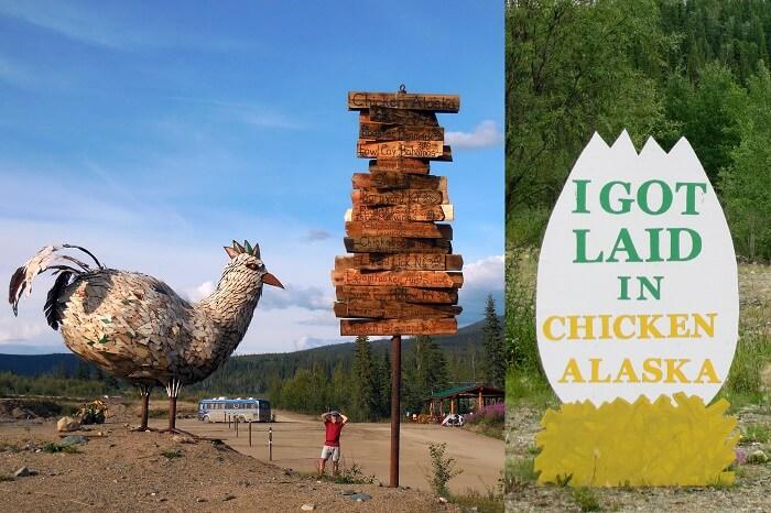 visit Chicken in alaska