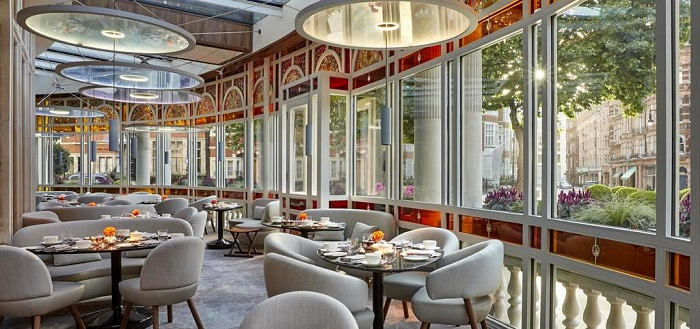 Connaught restaurant london