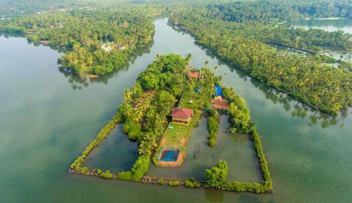 private island in Kerala