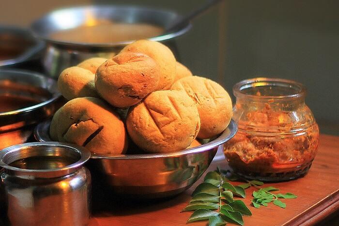 Daal Baati, best street food in udaipur