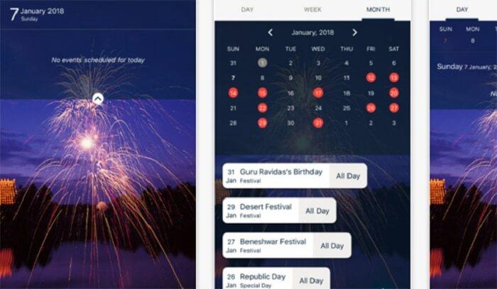 Incredible India Digital Calendar