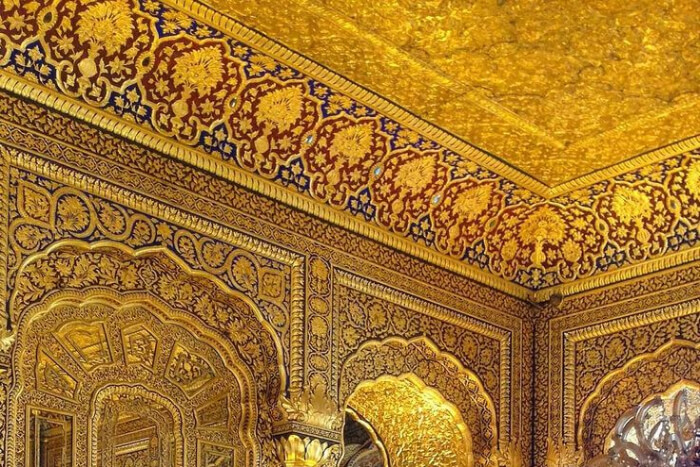golden temple architecture
