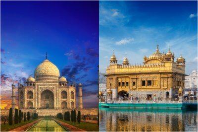 Taj Mahal vs Golden Temple