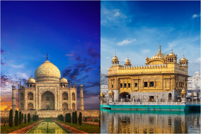 Taj Mahal vs Golden Temple