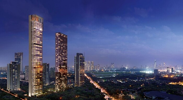 Four Seasons Private Residences Mumbai exterior
