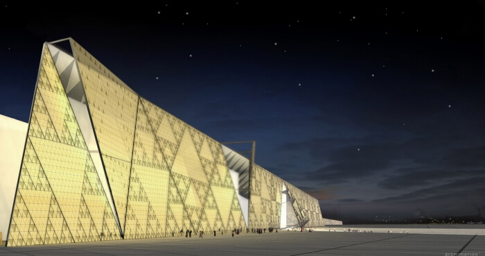 Grand Egyptian Museum in Egypt