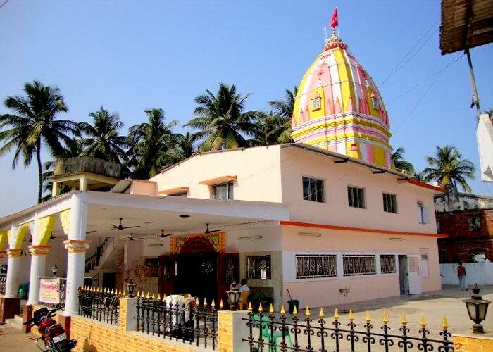 Exterior of Hanuman Temple Daman