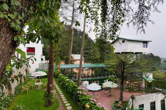 Exterior of Honeymoon Inn Shimla