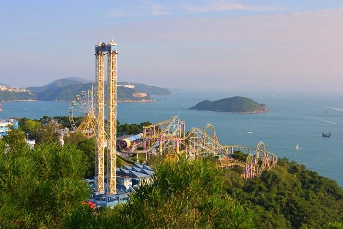 isha aggarwal hong kong family trip: ocean park