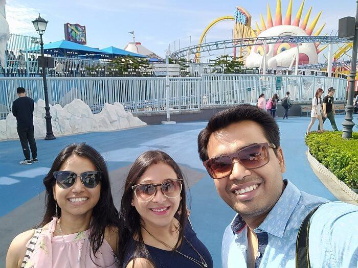 isha aggarwal hong kong family trip: ocean park rides