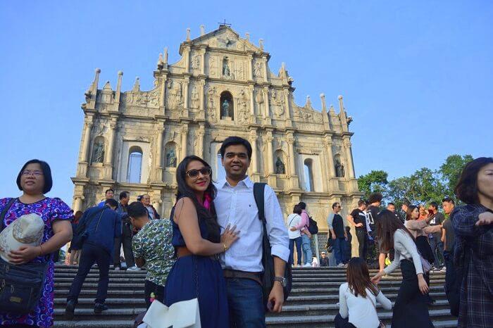isha aggarwal hong kong family trip: old city walls