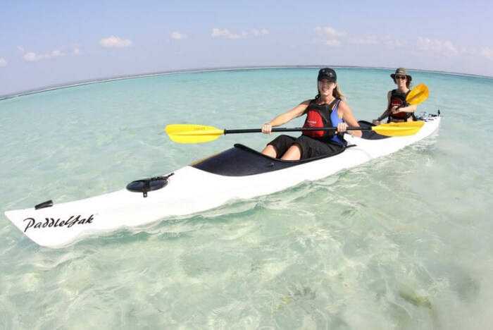 Kayaking in Ibo Island