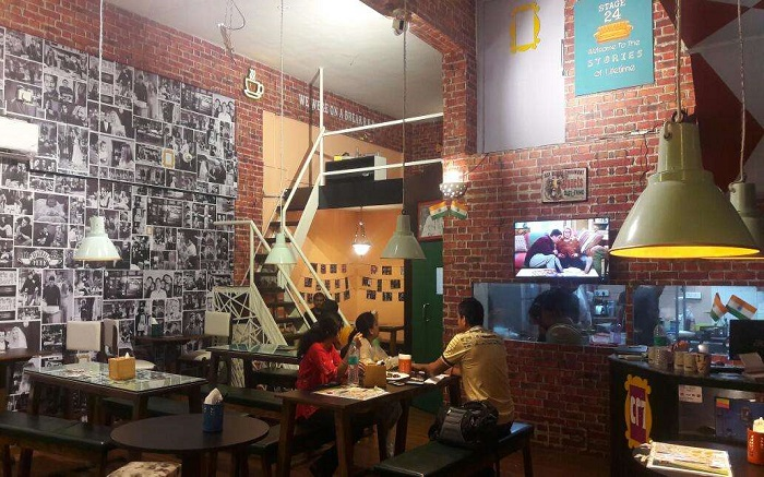 Interior view of Central Perk 7 in Kharghar in Mumbai