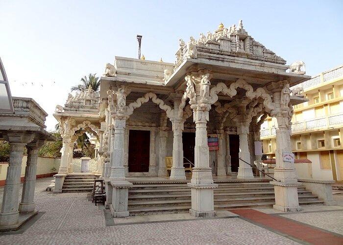 Entry of Jain Temple Daman