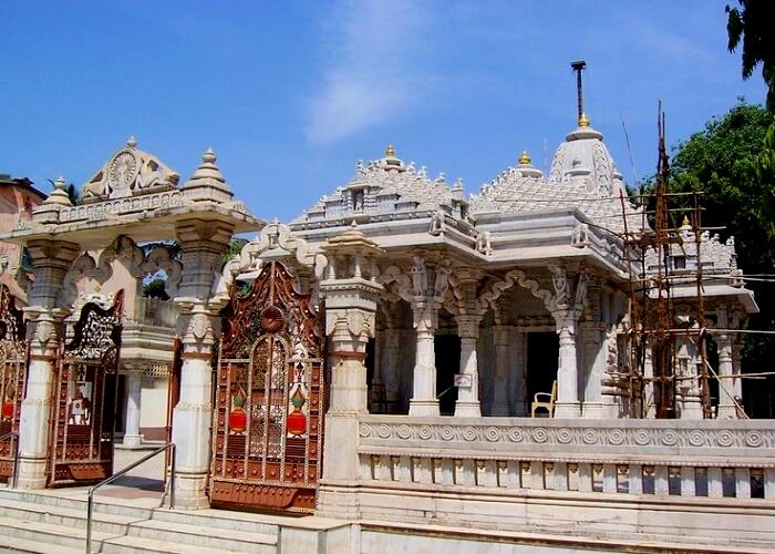 Exterior of Jain Temple In Daman