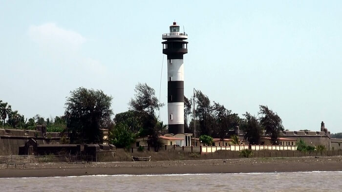 View of Lighthouse Daman