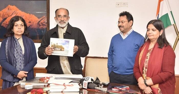 Ministers of MOT launching Digital Calendar