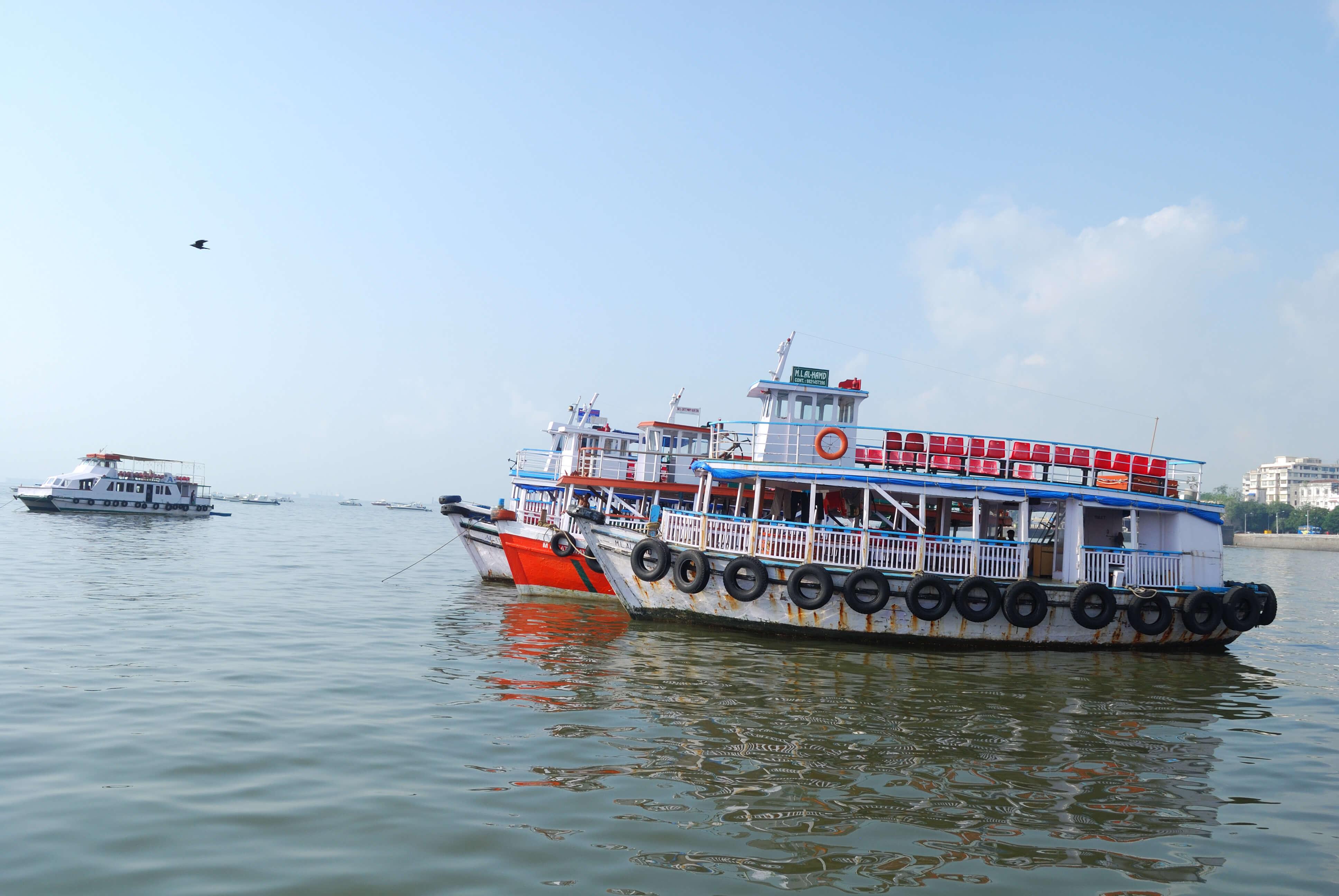 A Ferry in Mumbai