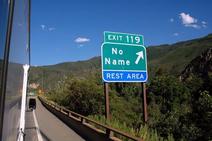 visit town called No Name