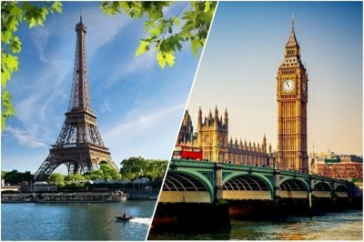 london vs paris