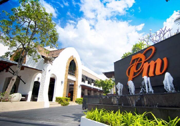 Entrance of Prima Villa Hotel Pattaya