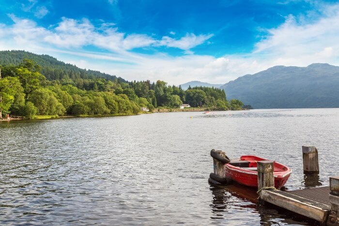 Lake in Scotland