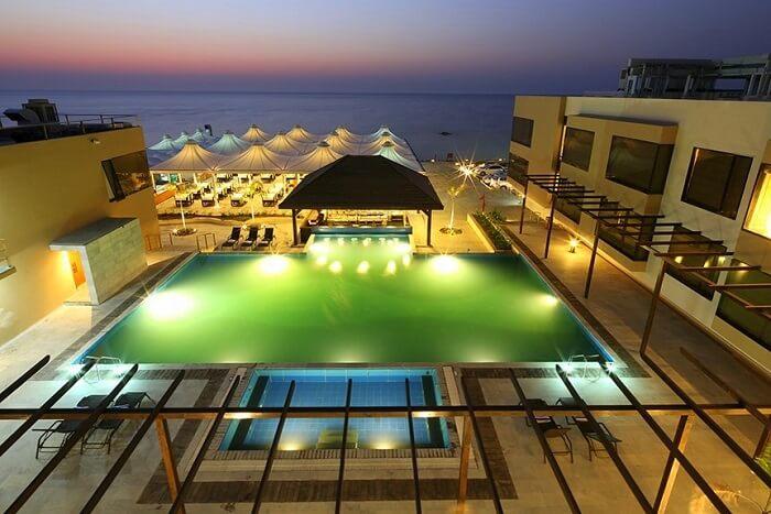 The Gold Beach Resort Daman in daman