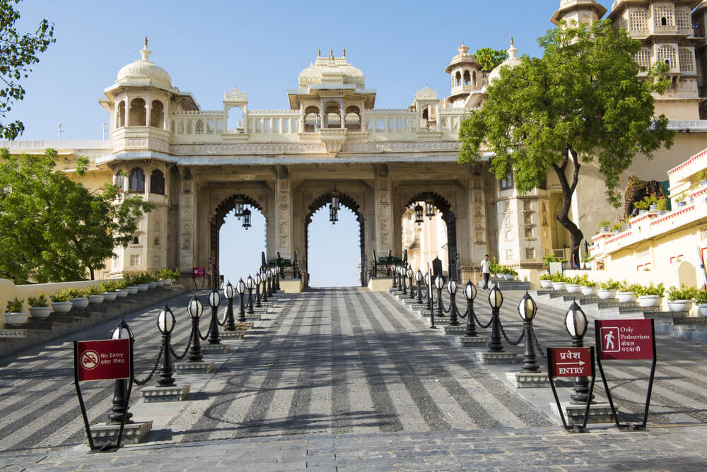 Tripolia Gate in jaipur