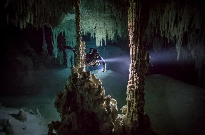 World's largest underwater cave