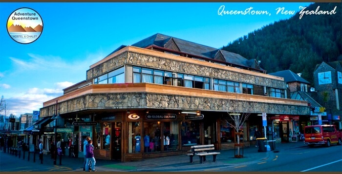 Adventure Queenstown Hostel New Zealand