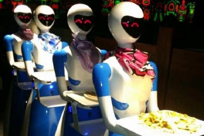 Robot Restaurant Chennai