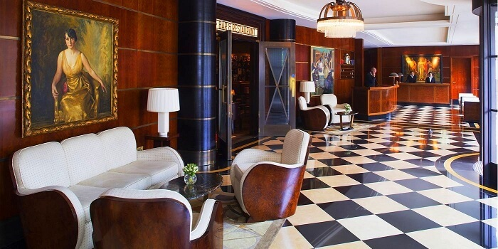 beaumont hotel lobby london
