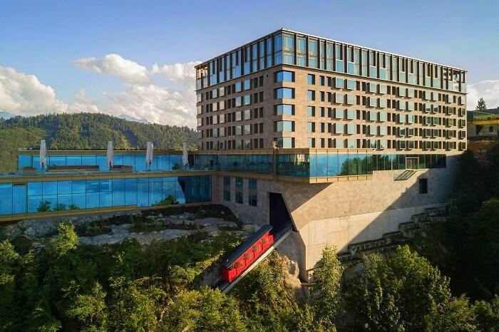 Burgenstock Hotel new luxury hotel