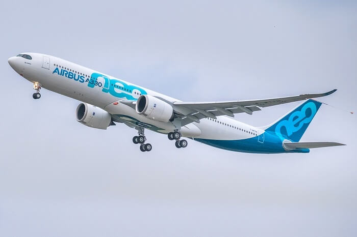 airbus flying