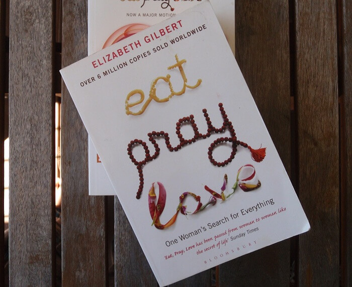 eat pray love novel to read on a holiday