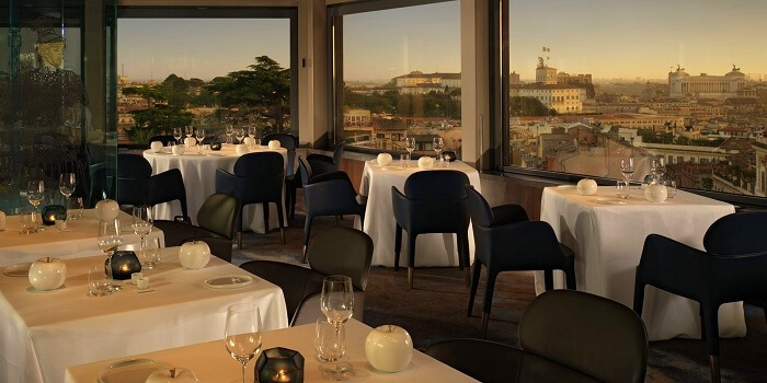 Hotel Eden in Rome