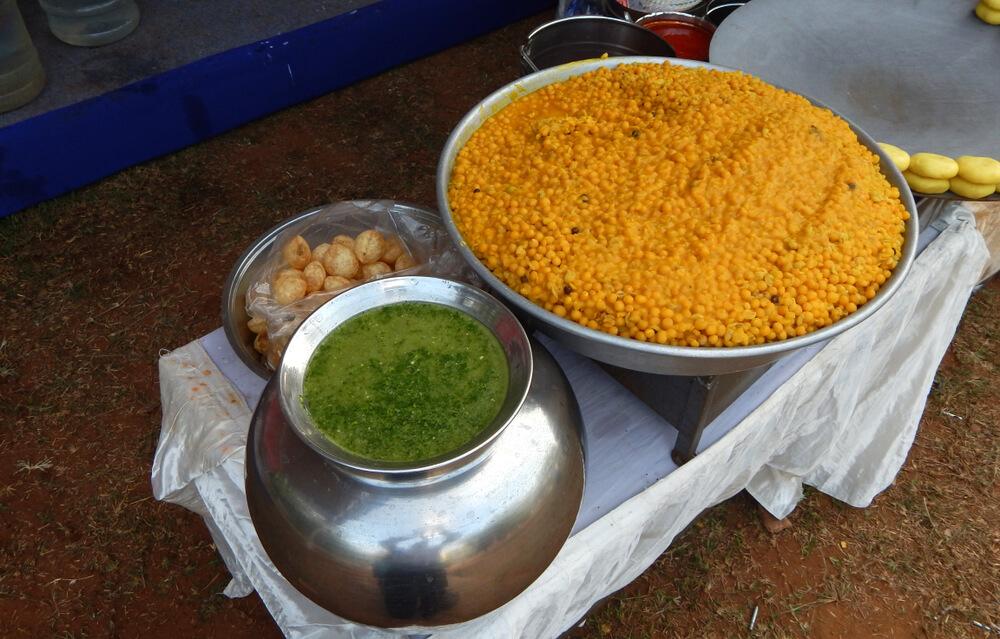Golgappe street food chennai